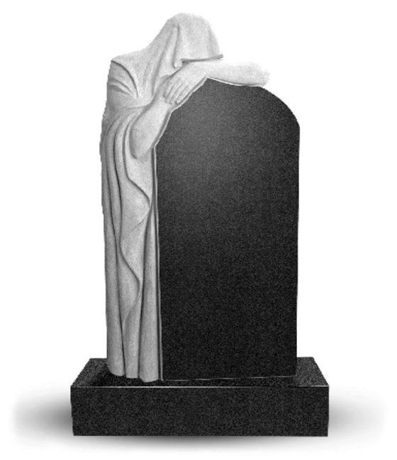 Вертикальный памятник из гранита
