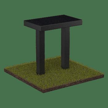 Столик на могилу