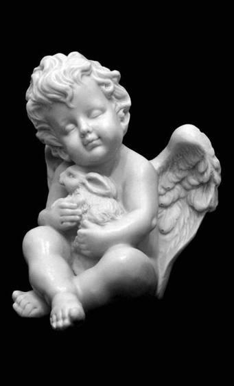ангел на могилу